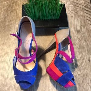 Jessica Simpson Multi-color Heels